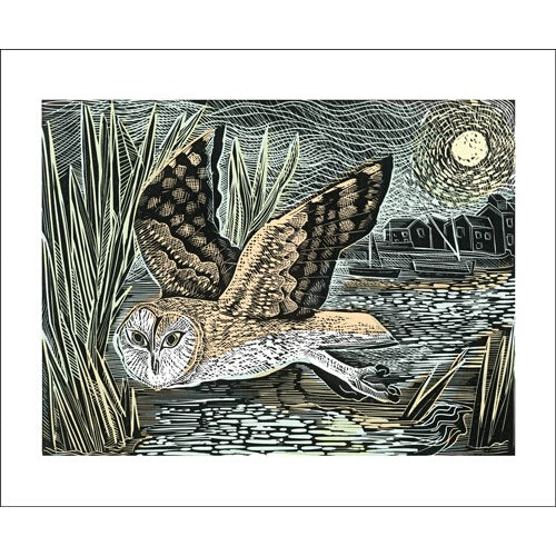 Angela Harding Marsh Owl from Art Angels