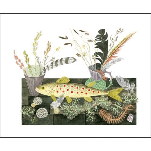 Angie Lewin Emilys Fish from Art Angels