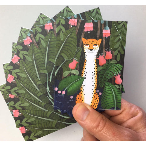 Leopard Notecards 8PK