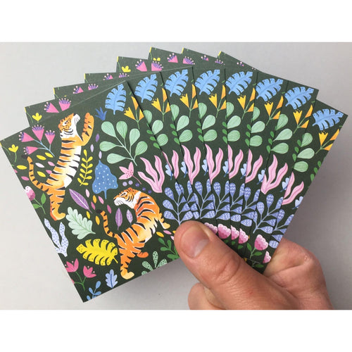 Tigers Notecards 8PK