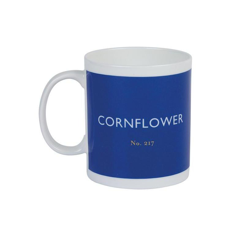 British Colour Standard Mug Cornflower from Designed In Colour