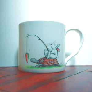 Boy Racer 400ml Mug from Two Bad Mice