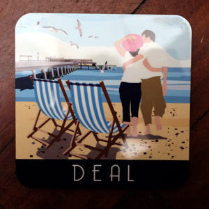 Deal Beach Coaster from Star Editions