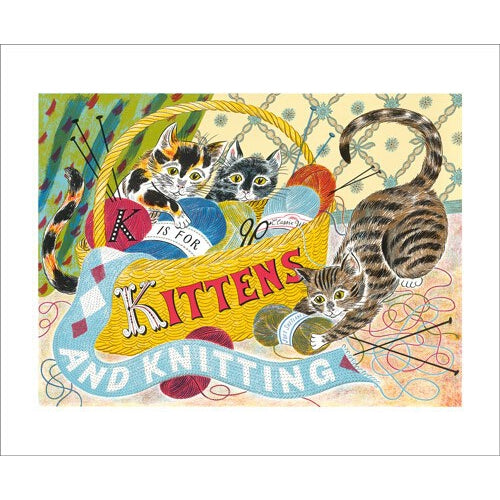 Emily Sutton K is for Kittens from Art Angels