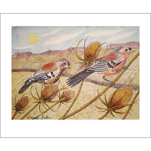 Emily Sutton Late Summer Chaffinches from Art Angels