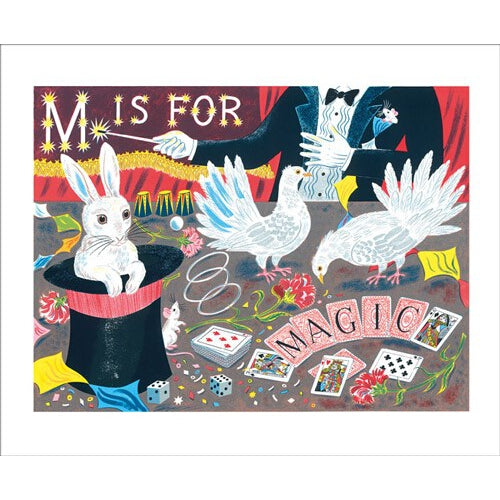 Emily Sutton M is for Magic from Art Angels