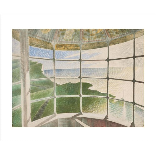 Eric Ravilious Beachy Head Lighthouse from Art Angels