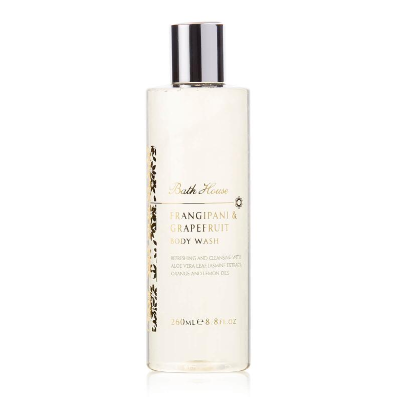 Frangipani & Grapefruit Body Wash 260ml from Bath House