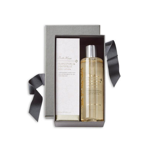 Frangipani & Grapefruit Shower Gift Set from Bath House