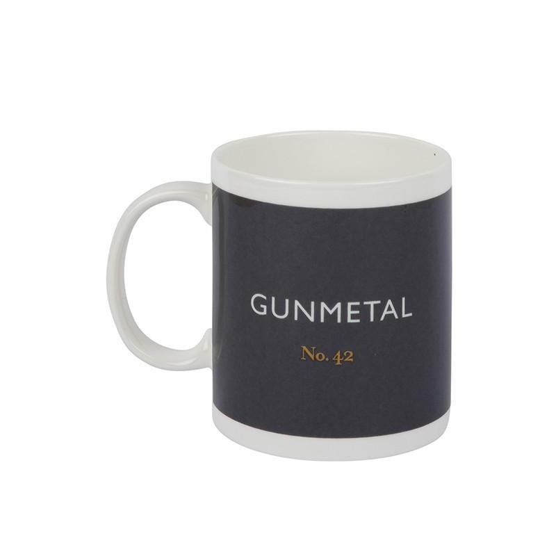 British Colour Standard Mug Gunmetal from Designed In Colour