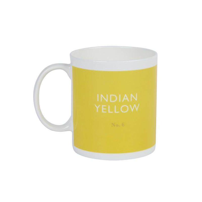British Colour Standard Mug Indian Yellow from Designed In Colour