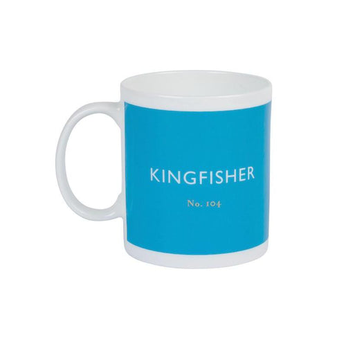 British Colour Standard Mug Kingfisher from Designed In Colour