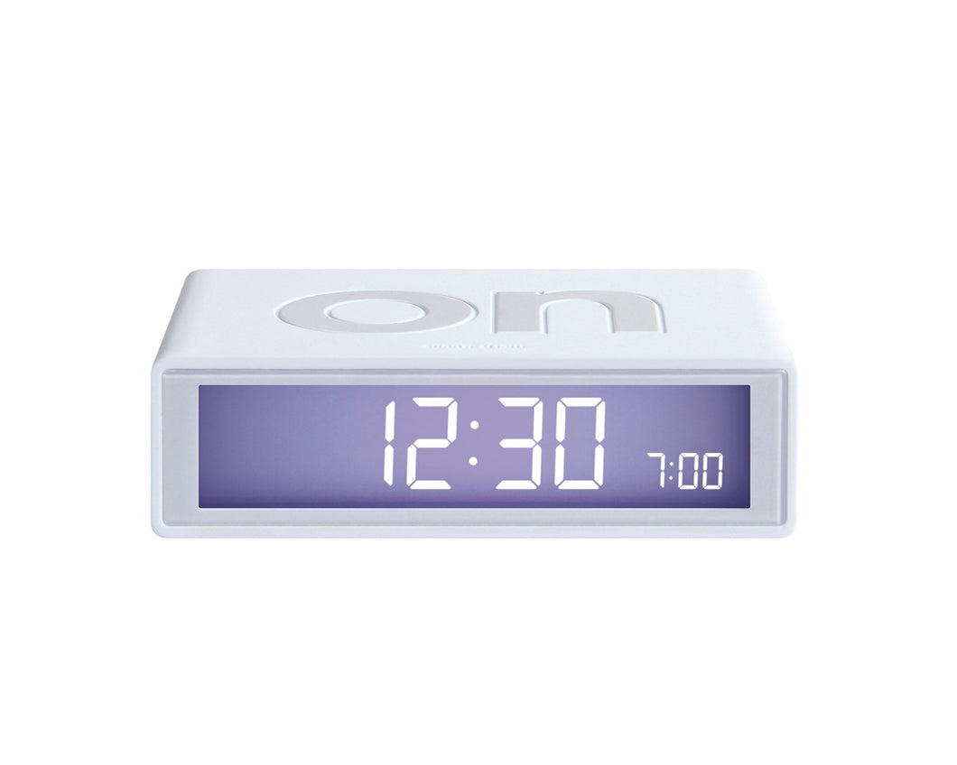 Flip Clock White from Stone Marketing