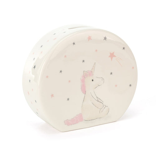 Bashful Unicorn Money Box