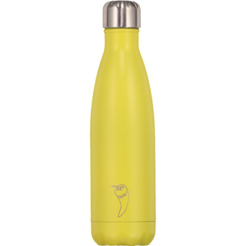 Chilly's Bottle Neon Yellow 500ml from Chillys