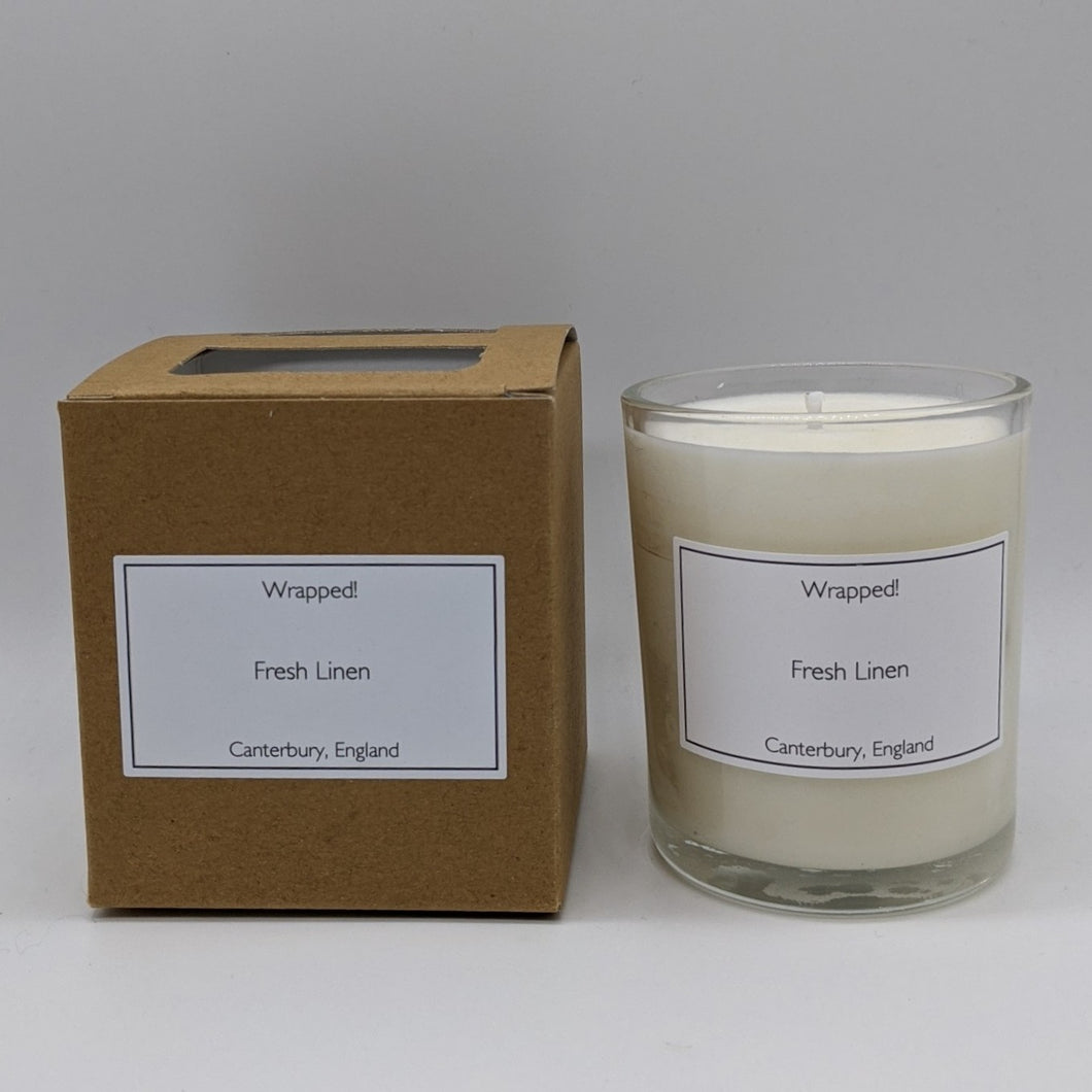 Fresh Linen 20cl Vegetable Wax Candle