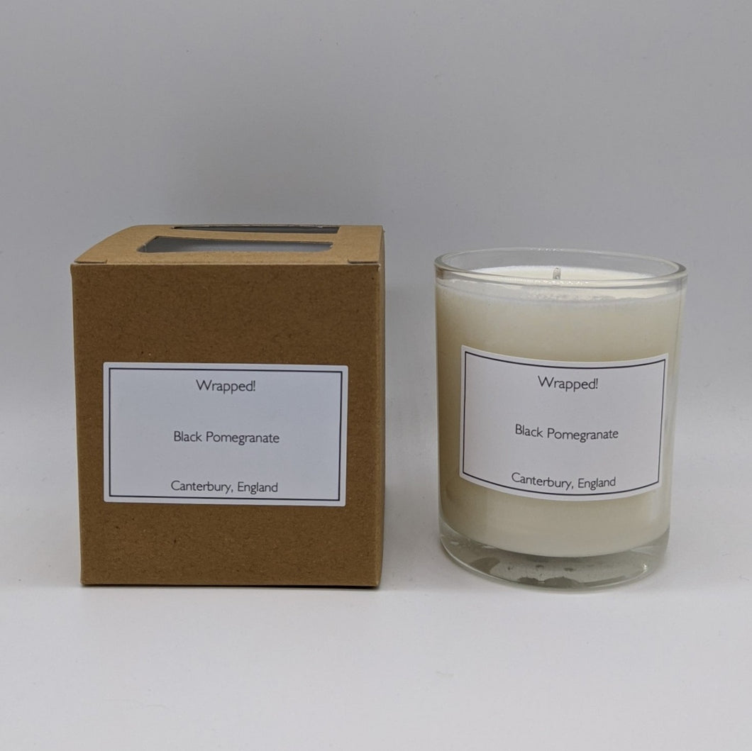 Black Pomegranate 20cl Vegetable Wax Candle