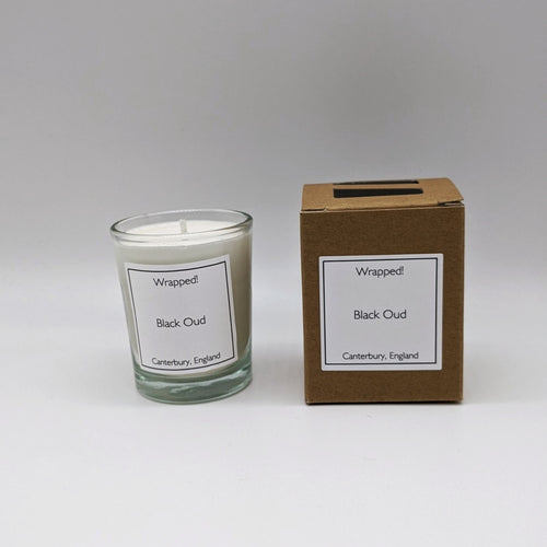 Black Oud 9cl Vegetable Wax Candle