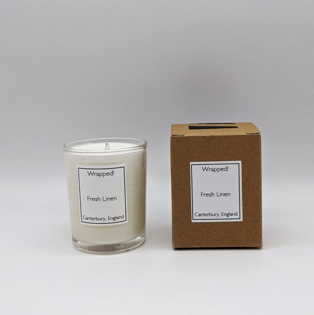 Fresh Linen 9cl Vegetable Wax Candle