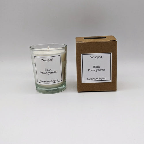 Black Pomegranate 9cl Vegetable Wax Candle