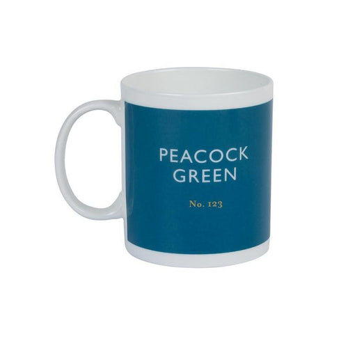 British Colour Standard Mug Peacock Green from Designed In Colour