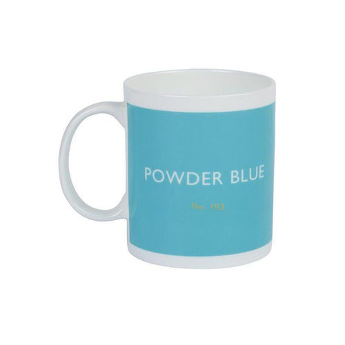 British Colour Standard Mug Powder Blue from Designed In Colour