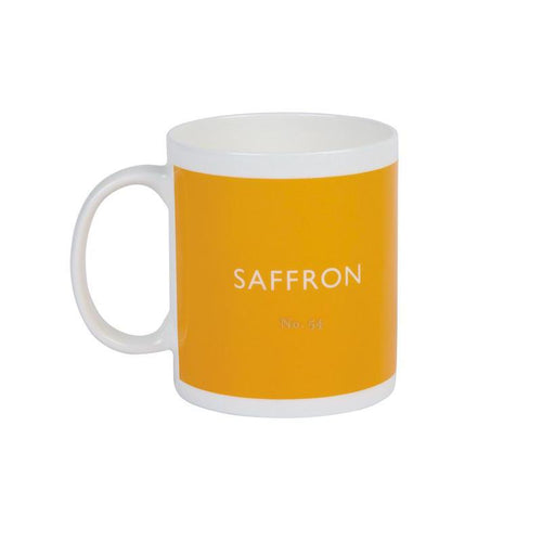 British Colour Standard Mug Saffron from Designed In Colour