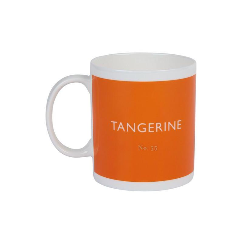 British Colour Standard Mug Tangerine from Designed In Colour