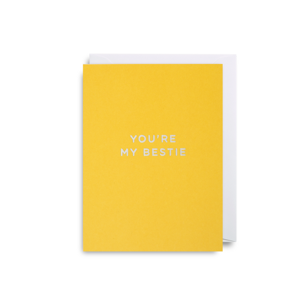 Bestie Mini Card from Lagom