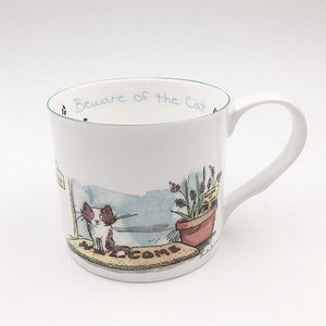Beware of the Cat 300ml Mug from Two Bad Mice
