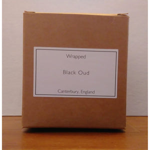 Black Oud 20cl Vegetable Wax Candle from Heaven Scents