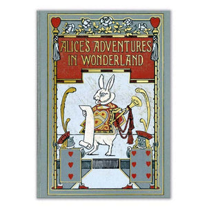 Alice in Wonderland Book Cover Journal from Museums & Galleries