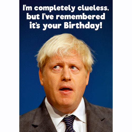 Boris Remembered Your Birthday