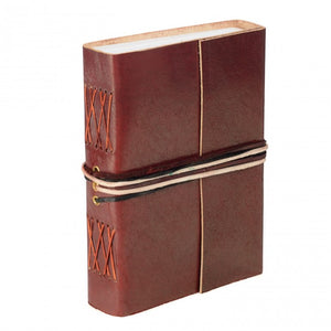 Fair Trade Leather Journal from Paper High