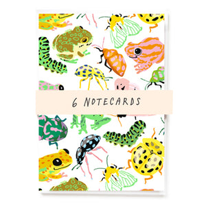 Bugs Notecards