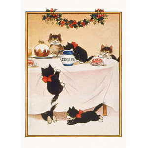 Cats Christmas Charity Christmas Cards 8 Pack