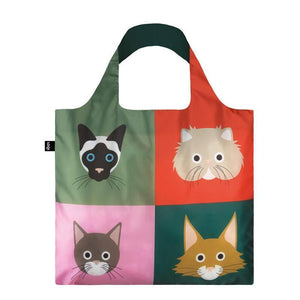 Cheetham Cats Loqi Shopper Bag from Stone Marketing