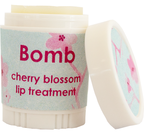 Cherry Blossom Lip Balm from Bomb Cosmetics