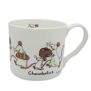 Chocoholics 300ml Mug from Two Bad Mice