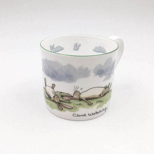 Cloud Watching 300ml Mug from Two Bad Mice