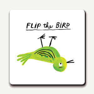 Flip The Bird Coaster from Ustudio