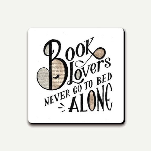 Book Lovers Coaster from Ustudio