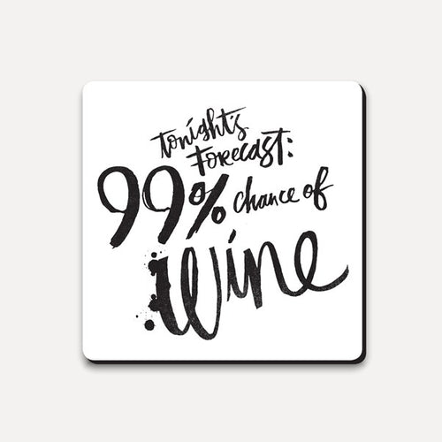 Forecast Wine Coaster from Ustudio