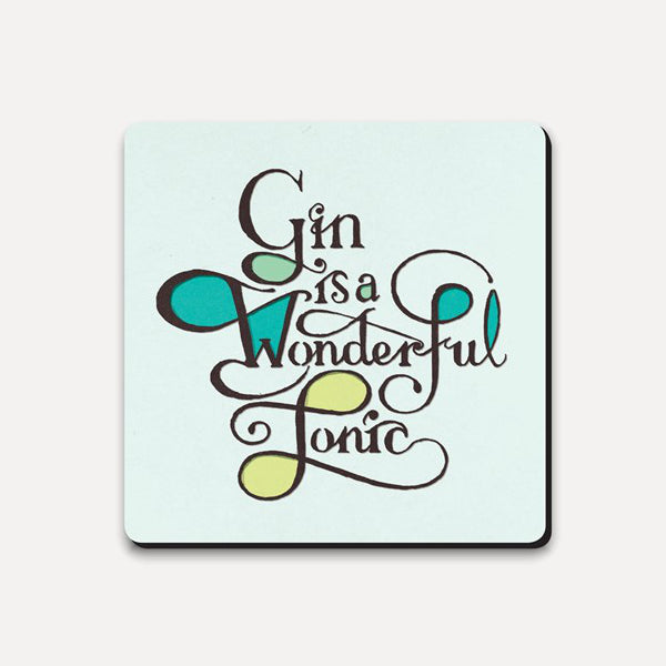 Gin Tonic Coaster from Ustudio