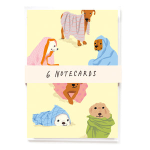 Cosy Dogs Notecards