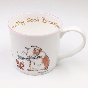 Crackin Breakfast 300ml Mug from Two Bad Mice