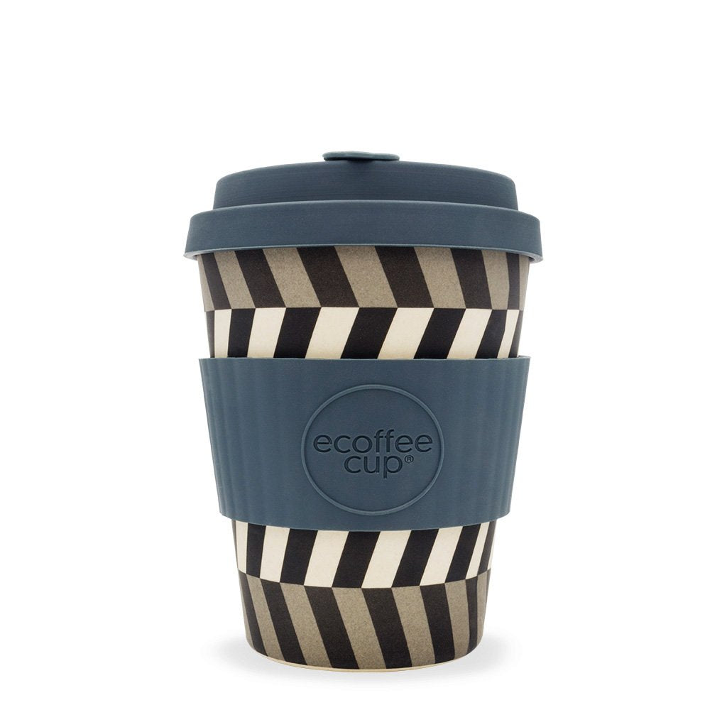 Eyes 12oz Reusable Bamboo Cup from ecoffee