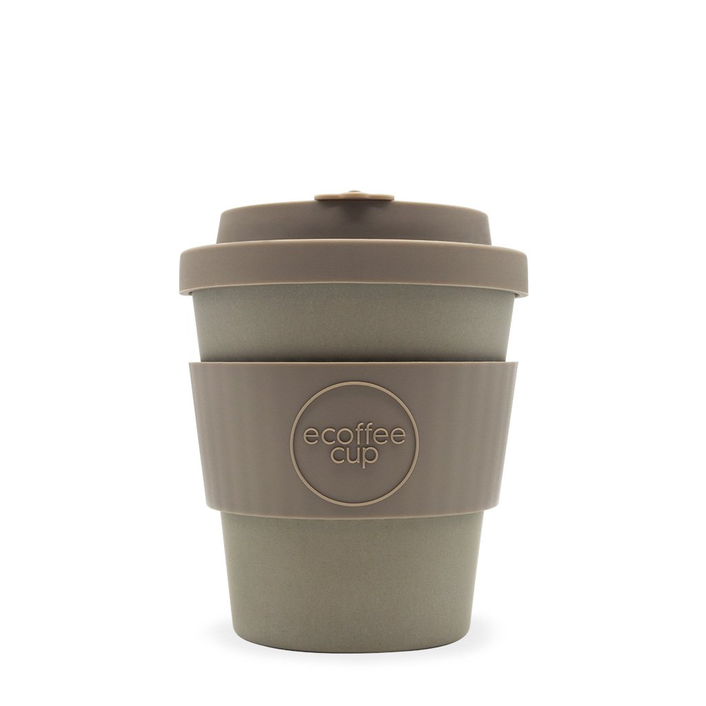 Grey 8oz Reusable Bamboo Cup from ecoffee