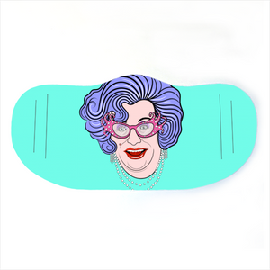 Face Mask - Dame Edna Everage