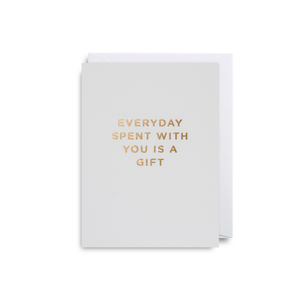 Every Day A Gift Mini Card from Lagom